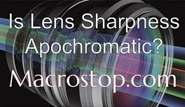 Is Lens Sharpness Appochromatic?