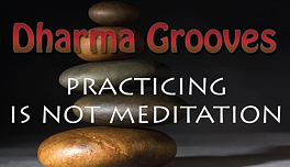 Dharma Grooves:  Practicing Meditation is Not Meditation